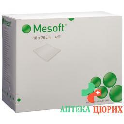 Месофт компрессы 10x20 см стерильные 60 x 2 шт.