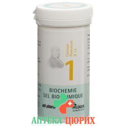 Pflueger Schussler Nr. 1 Calc Fluo в таблетках, D 12 25г