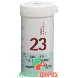 Pflueger Schussler Nr. 23 Natr Bicar в таблетках, D 6 100г