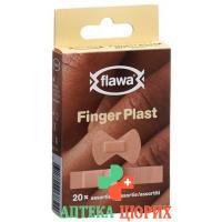 Flawa Finger Plast Assortiert 20 штук