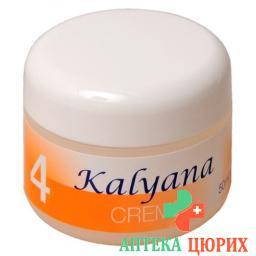Kalyana 4 крем mit Kalium Chloratum 50мл