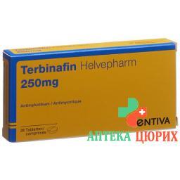 Тербинафин Хельвефарм 250 мг 28 таблеток