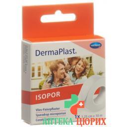 Dermaplast Isopor фиксирующий пластырь 10мX1.25см Weiss