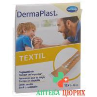 Dermaplast Textil 12 Fingerverbandpflaster