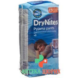 Huggies Drynites Nachtwindeln Boy 8-15jahre 9 штук