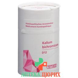 Phytomed Schussler Kalium Bichr в таблетках, D 12 50г