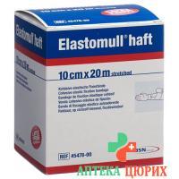 Elastomull Haft марлевый бинт Weiss 20мX10см рулон