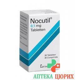 Нокутил 0.1 мг 30 таблеток