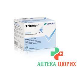 Триомер изотонический раствор 36 монодоз по 5 мл
