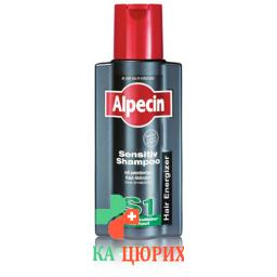 Alpecin Hair Energizer Sensitiv Shampoo S1 250мл