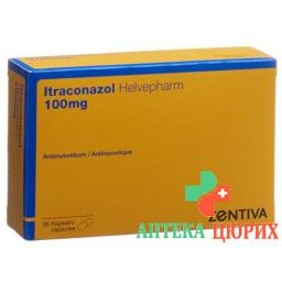 ITRACONAZOL HELVEPHARM 100
