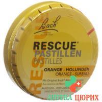 Bachbluten Rescue пастилки Orange
