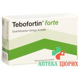 Тебофортин Форте 80 мг 80 таблеток покрытых оболочкой