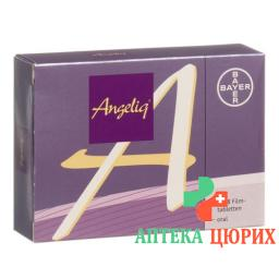 Анжелик 3 × 28 таблеток покрытых оболочкой
