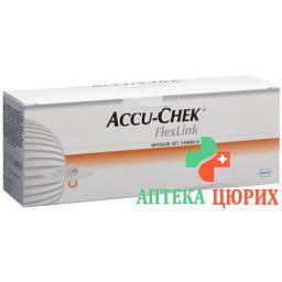 Accu-chek Flexlink Teflonkanulen 8мм 10 штук