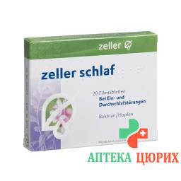 Зеллер для сна 20 таблеток покрытых оболочкой