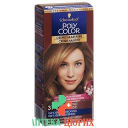 Polycolor крем цвет волос 37 Dunkelblond 90мл