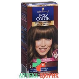 Polycolor крем цвет волос 39 Hellbraun 90мл