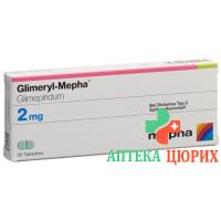Глимерил Мефа 2 мг 30 таблеток