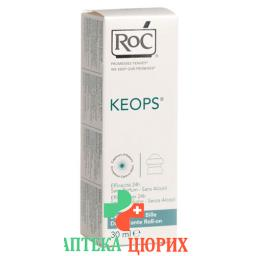 Roc Keops Deo Roll On Sans Alcool 30мл