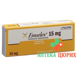 Эмселекс 15 мг 56 ретард таблеток