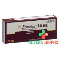 Эмселекс 7,5 мг 14 ретард таблеток