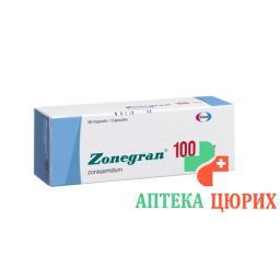 Зонегран 100 мг56 капсул