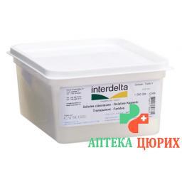 Gelatine в капсулах 4 прозрачный Interdelta 1000 штук