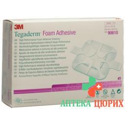 3M Tegaderm Foam Adhesive Schaumkompresse 5x5см 10 штук