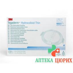 3M Tegaderm Hydrocolloid Thin 7x9см Oval 10 штук