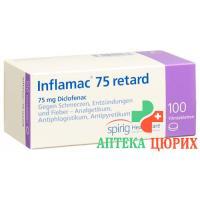 Инфламак 75 Ретард 75 мг 100таблеток покрытых оболочкой