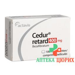 Кедур 100 мг 10 ретард таблеток покрытых оболочкой