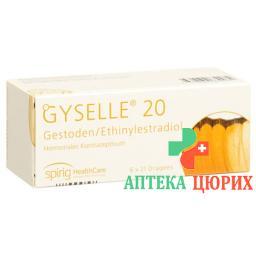 Жизелль - 20 6 x 21 таблетке