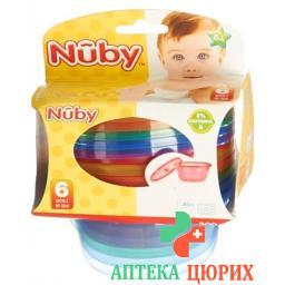 Nuby Breischalen Picknick-Set 300мл 6 штук