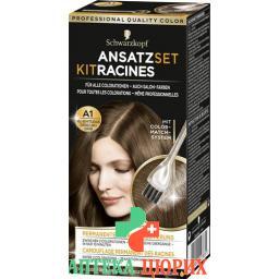 Schwarzkopf Ansatzset Hell Mittelbraun бутылка 22мл