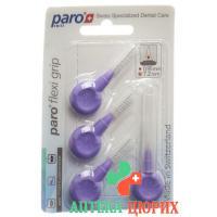 Paro Flexi Grip 8мм Mittel-Grob Violett 4 штуки