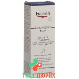 Eucerin UreaRepair PLUS Fusscreme mit 10% Urea 100мл
