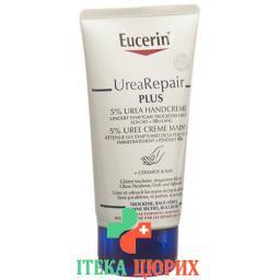 Eucerin UreaRepair PLUS крем для рук mit 5% Urea 75мл