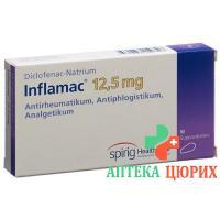 Инфламак 12,5 мг 10 суппозиториев