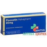 Флуоксетин Хелвефарм 20 мг 10диспергируемых таблеток