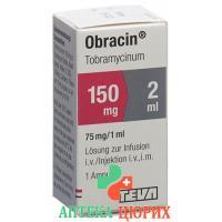Обрацин 150 мг/2 мл флакон 2 мл раствор для инъекций