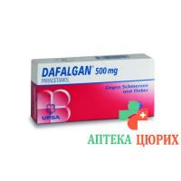 Дафалган 500 мг 16 таблеток