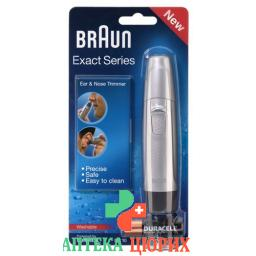 Braun Exact Series Ohr U Nasenhaarschneider En 10