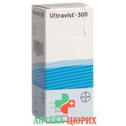 Ультравист 300 мг ампула 20 мл раствор для инъекций