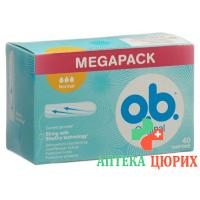 Ob Tampons Normal 40 штук