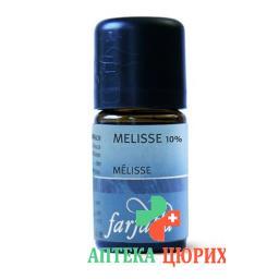 Farfalla Melisse 10% Alko 90% эфирное масло Kba 5мл