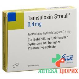 Тамсулозин Штройли 0,4 мг 10ретардкапсул