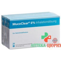 Pari Mucoclear раствор для ингаляций 6% NaCl 60x 4мл