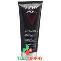 Vichy Homme гель для душа Hydra Mac C 200мл
