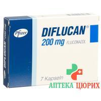 Дифлюкан200 мг 7 капсул